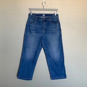 Old Navy high rise wide leg jeans size 12